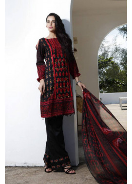 Al Zohaib Embroidered Lawn Unstitched 3 Piece Suit MN17E 8A