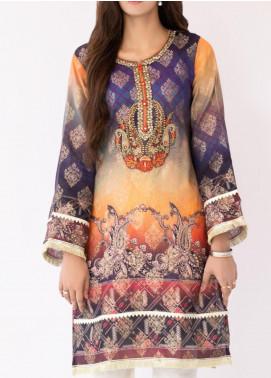 Mohagni Jacquard Printed Women Kurtis -  MO20P D-02 Purple