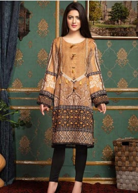 Mohagni Printed Lawn Unstitched Kurties MO20T 10 - Spring / Summer Collection