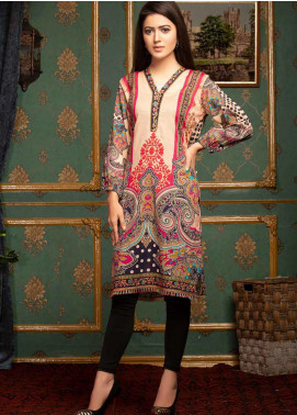 Mohagni Printed Lawn Unstitched Kurties MO20T 18 - Spring / Summer Collection