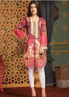 Mohagni Printed Lawn Unstitched Kurties MO20T 19 - Spring / Summer Collection