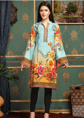Mohagni Printed Lawn Unstitched Kurties MO20T 8 - Spring / Summer Collection