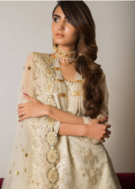 Momal Khan Embroidered Stitched Bridal Suit MK-08B Sangrai
