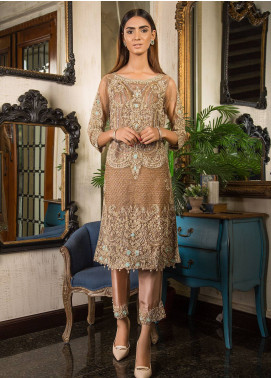 Momal Khan Embroidered  Stitched Bridal Suit MK-10B Magic City