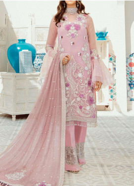 Mon Tresor Imrozia by Serene Premium Embroidered Organza Unstitched 3 Piece Suit IMP20MT I-120 BEAUTE - Luxury Collection