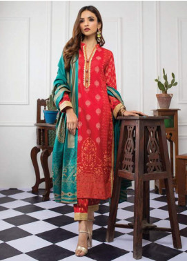 Monsoon by Al Zohaib Banarsi Lawn Unstitched 3 Piece Suit AZ20MB 3B - Spring / Summer Collection