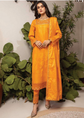 Monsoon by Al Zohaib Banarsi Cambric Unstitched 3 Piece Suit AZ20MS 3A - Winter Collection