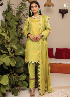 Monsoon by Al Zohaib Banarsi Cambric Unstitched 3 Piece Suit AZ20MS 3C - Winter Collection