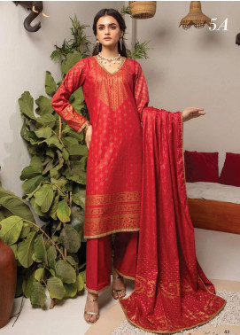 Monsoon by Al Zohaib Banarsi Cambric Unstitched 3 Piece Suit AZ20MS 5A - Winter Collection