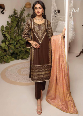 Monsoon by Al Zohaib Banarsi Cambric Unstitched 3 Piece Suit AZ20MS 6A - Winter Collection