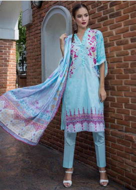 Monsoon by Al Zohaib Printed Cambric Winter Collection Design # 5c 2019