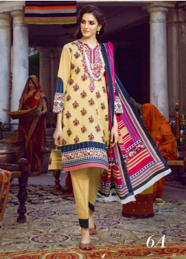 Monsoon by Al Zohaib  Printed Lawn Unstitched 3 Piece Suit AZ20M-6A - Summer Collection