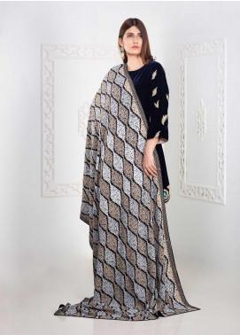 Mosaic Embroidered Pashmina  Shawl MC20SH MS-06 - Pashmina Shawls