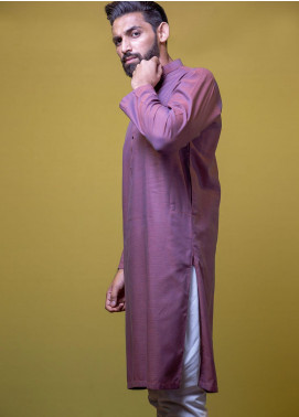 Mosaic Cotton Formal Men Kurtas -  3302 Maroon