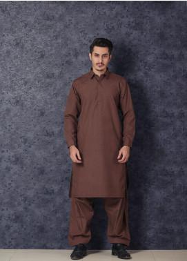 Mosaic Winter Wash N Wear Formal Kameez Shalwar for Men -  BON BON Brown