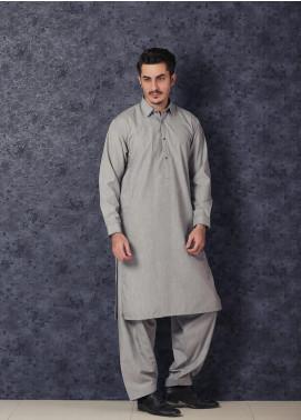 Mosaic Winter Wash N Wear Formal Kameez Shalwar for Men -  BON BON Silver