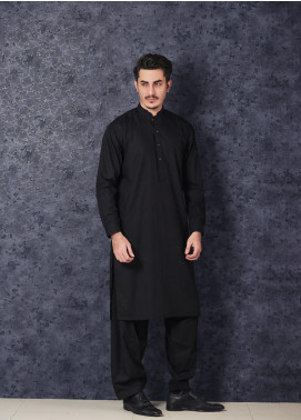 Mosaic Winter Wash N Wear Formal Kameez Shalwar for Men -  CHAMPION Black