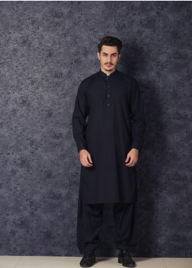 Mosaic Winter Wash N Wear Formal Men Kameez Shalwar -  CHAMPION Navy