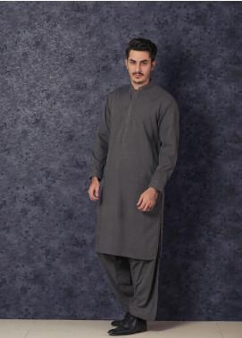 Mosaic Winter Wash N Wear Formal Men Kameez Shalwar -  CHAMPION Silver
