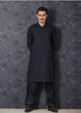 Mosaic Wash N Wear Formal Men Kameez Shalwar -  D-103 Blue