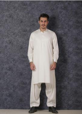 Mosaic Wash N Wear Formal Kameez Shalwar for Men - D-17 Cream