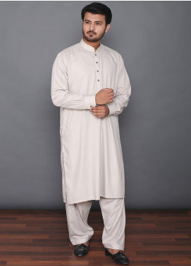 Mosaic Wash N Wear Formal Kameez Shalwar for Men -  MOS-01 Beige