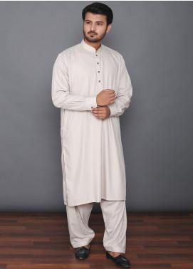 Mosaic Wash N Wear Formal Kameez Shalwar for Men - MOS-01 Beige