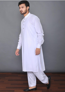 Mosaic Wash N Wear Formal Men Kameez Shalwar -  MOS-02 White