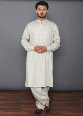 Mosaic Wash N Wear Formal Kameez Shalwar for Men -  MOS-03 Green