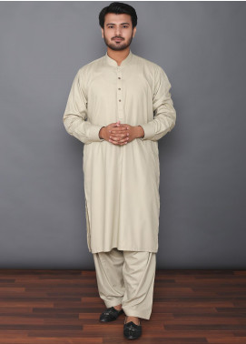 Mosaic Wash N Wear Formal Kameez Shalwar for Men -  MOS-05 Dark Green