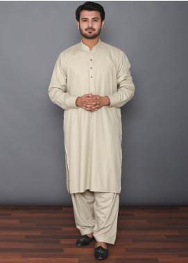 Mosaic Wash N Wear Formal Kameez Shalwar for Men - MOS-05 Dark Green