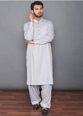 Mosaic Wash N Wear Formal Men Kameez Shalwar -  MOS-08 Grey
