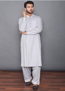 Mosaic Wash N Wear Formal Men Kameez Shalwar - MOS-08 Grey