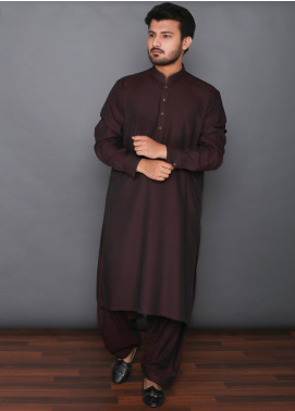 Mosaic Wash N Wear Formal Men Kameez Shalwar -  MOS-12 Maroon