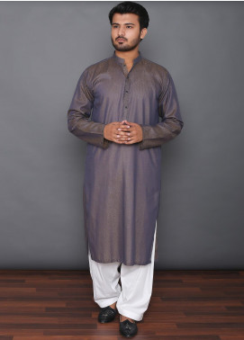 Mosaic Cotton Formal Kurtas for Men -  3301 Dark Brown