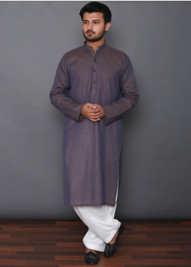Mosaic Cotton Formal Kurtas for Men -  3307 Light Purple