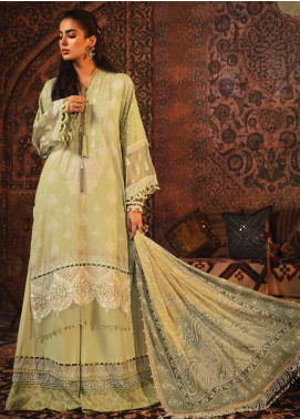 Mprints by Maria B Embroidered Karandi Unstitched 3 Piece Suit MB20FW 9A - Winter Collection