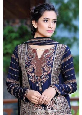 Motifz Embroidered Karandi Unstitched 3 Piece Suit MT16W 1511A