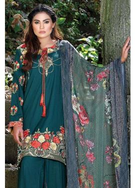 Motifz Embroidered Karandi Unstitched 3 Piece Suit MT16W 1513B