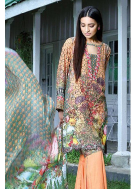 Motifz Embroidered Karandi Unstitched 3 Piece Suit MT16W 1528A