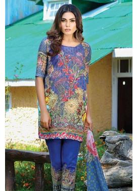 Motifz Embroidered Karandi Unstitched 3 Piece Suit MT16W 1528B