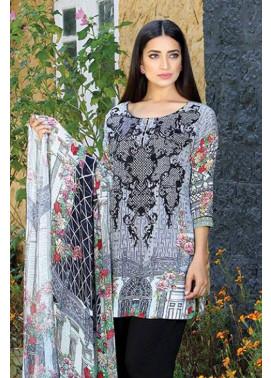 Motifz Embroidered Karandi Unstitched 3 Piece Suit MT16W 1531A