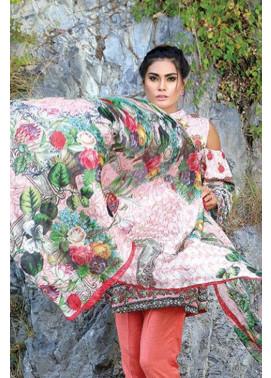 Motifz Embroidered Karandi Unstitched 3 Piece Suit MT16W 1532B