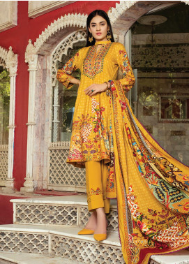 Flawless Beauty by MTF Embroidered Linen Unstitched 3 Piece Suit MTF20FB 03 - Winter Collection