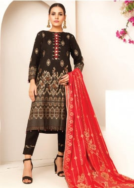 MTF Banarsi Lawn Unstitched 3 Piece Suit MTF20JF MTF 03 - Spring / Summer Collection