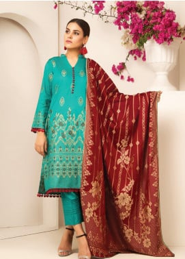 MTF Banarsi Lawn Unstitched 3 Piece Suit MTF20JF MTF 04 - Spring / Summer Collection