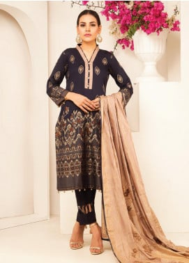 MTF Banarsi Lawn Unstitched 3 Piece Suit MTF20JF MTF 05 - Spring / Summer Collection