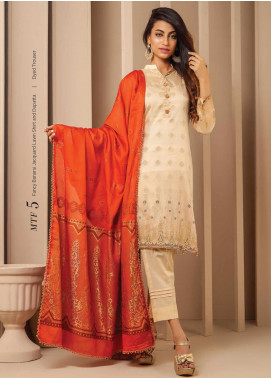 MTF Banarsi Lawn Unstitched 3 Piece Suit MTF20SS 05 Enchanting Grace - Spring / Summer Collection
