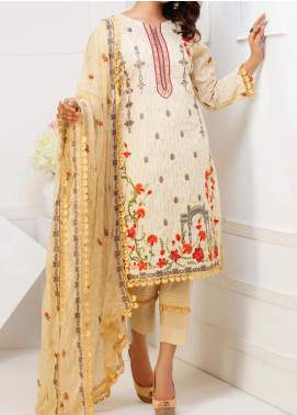 MTF Embroidered Cambric Unstitched 3 Piece Suit MTF20MS 03 - Summer Collection