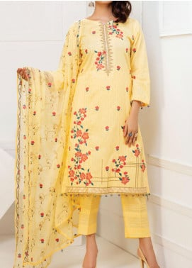 MTF Embroidered Cambric Unstitched 3 Piece Suit MTF20MS 05 - Summer Collection